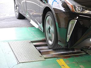 タクシーメーター装置検査設備2